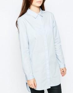 Chemise bleu claire