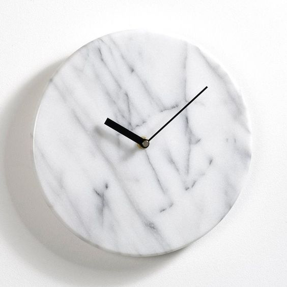 horloge vingt-cinq ans