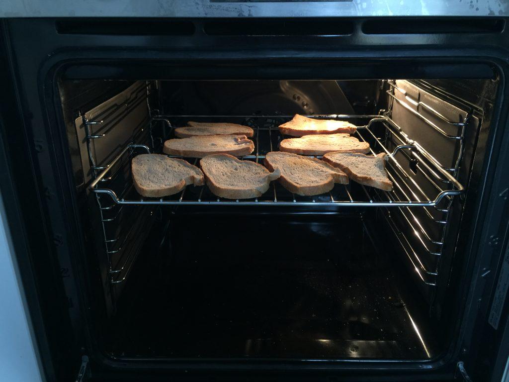 tartine pain grillé