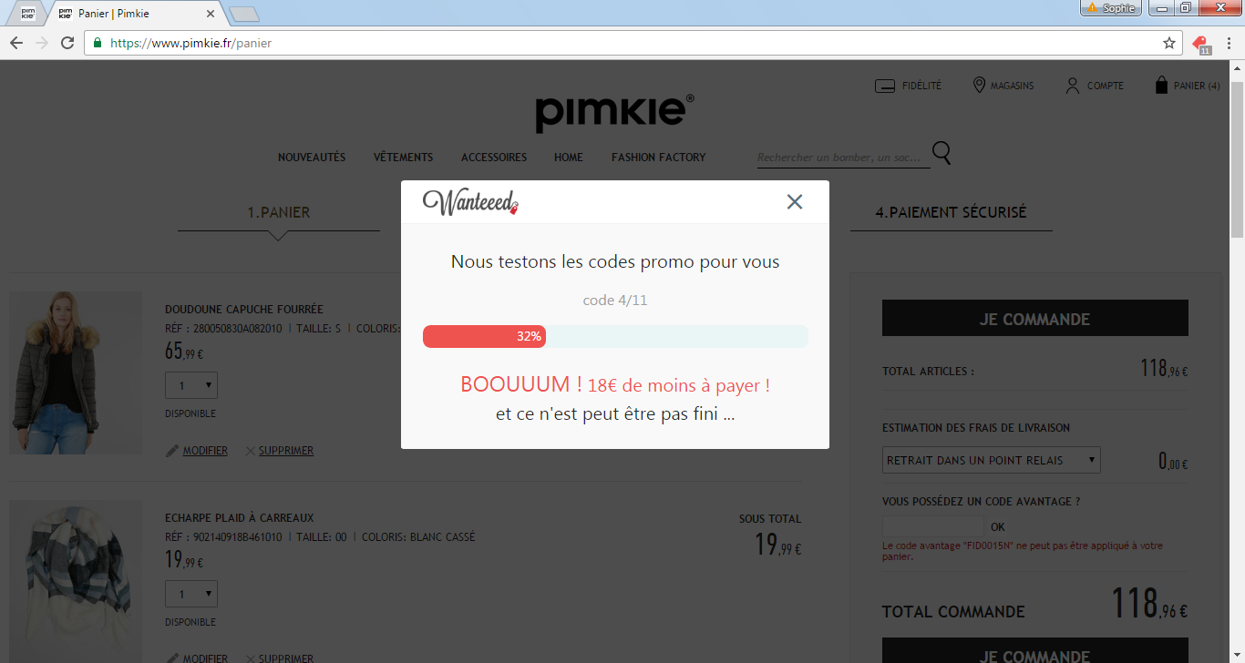 code-promos-wanteeed-pimkie-telechargement